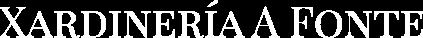 Xardinería A Fonte Logo